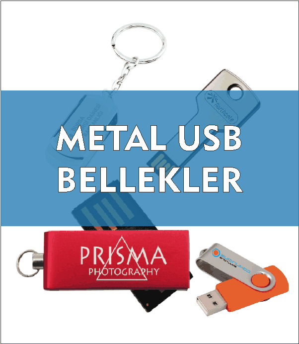 Metal Usb Bellekler